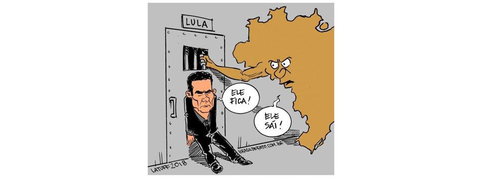 Latuff e a guerra de Moro para manter Lula preso