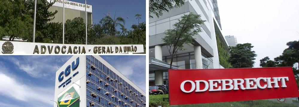 AGU: após acordo de leniência, Odebrecht terá de devolver R$ 2,7 bi