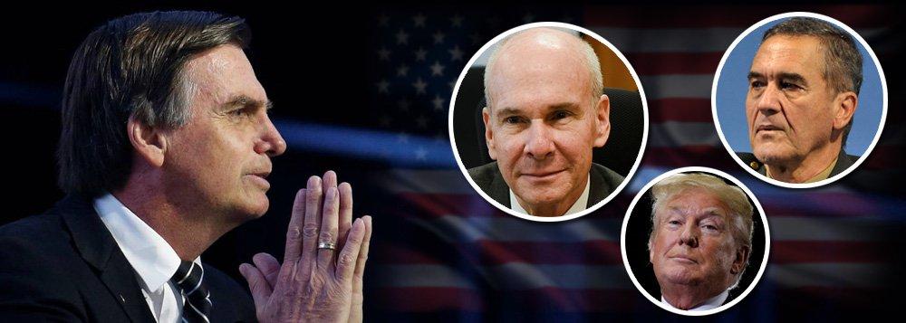 Candidatos pedem bênção ao embaixador dos EUA e ao comandante do Exército