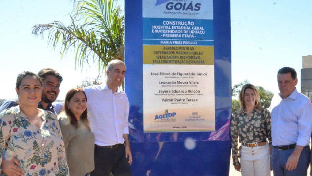 Com Hospital de Uruaçu, Eliane ganha pontos na região Norte