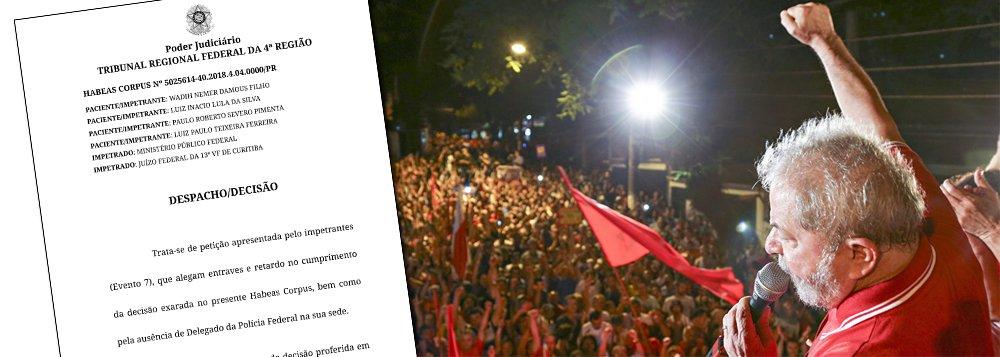 Desembargador peita Moro e manda crumprir ordem de soltar Lula