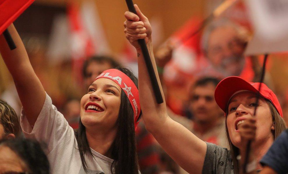 PT: liberdade de Lula é a liberdade do Brasil