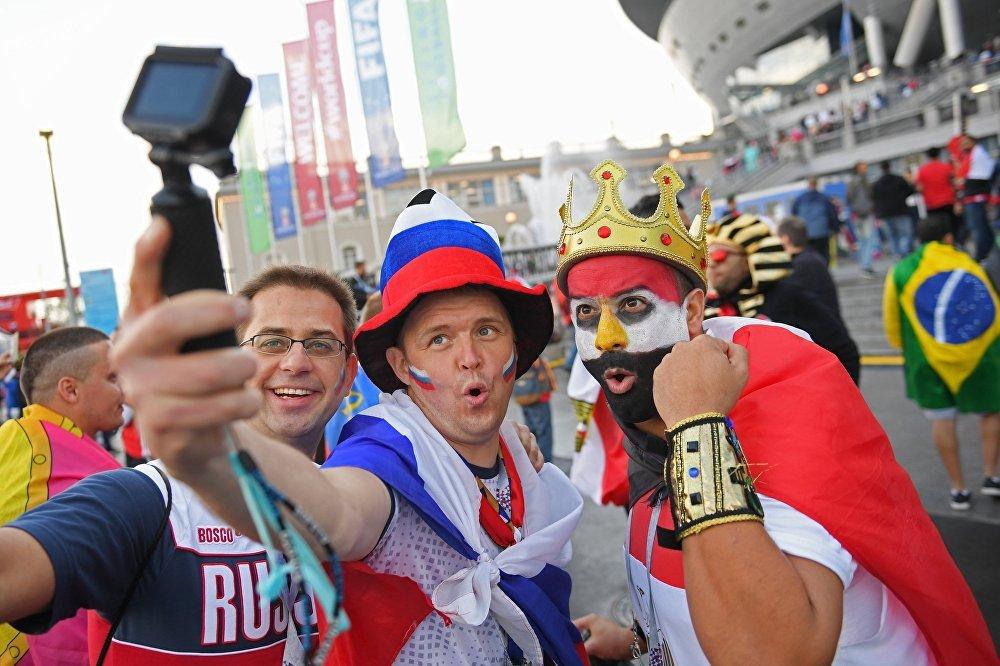 Russos se dizem orgulhosos da campanha na Copa