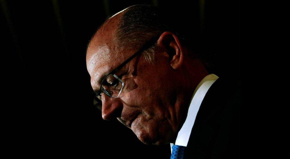Alckmin insiste: é ele quem vai para o 2º turno, e não Bolsonaro