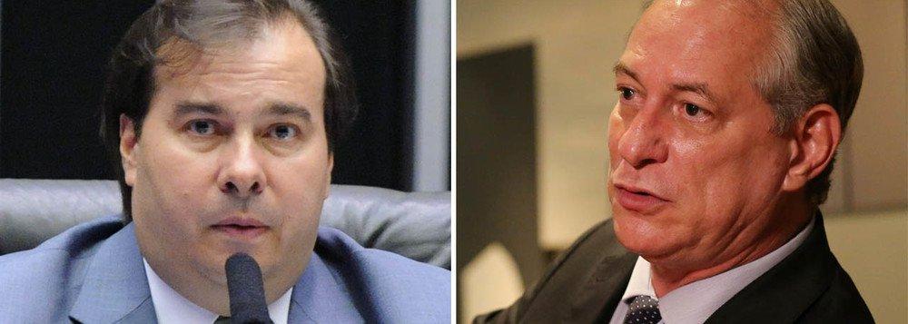 Ciro acena apoio a Eduardo Paes para selar aliança com DEM
