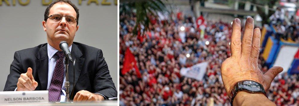 Nelson Barbosa: Lula preso há 3 meses, e parece que vivemos sob intervenção
