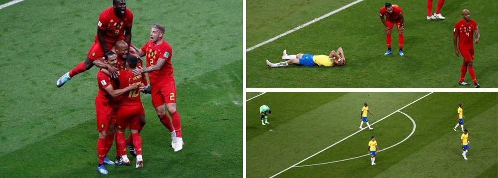Brasil cai diante do timaço da Bélgica