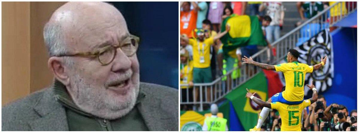 Cadê a festa do futebol? Querem nos roubar até a alegria de torcer pelo Brasil?