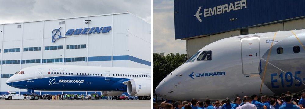 Tijolaço: Entrega da Embraer à Boeing foi ótimo negócio. Para a Boeing, claro