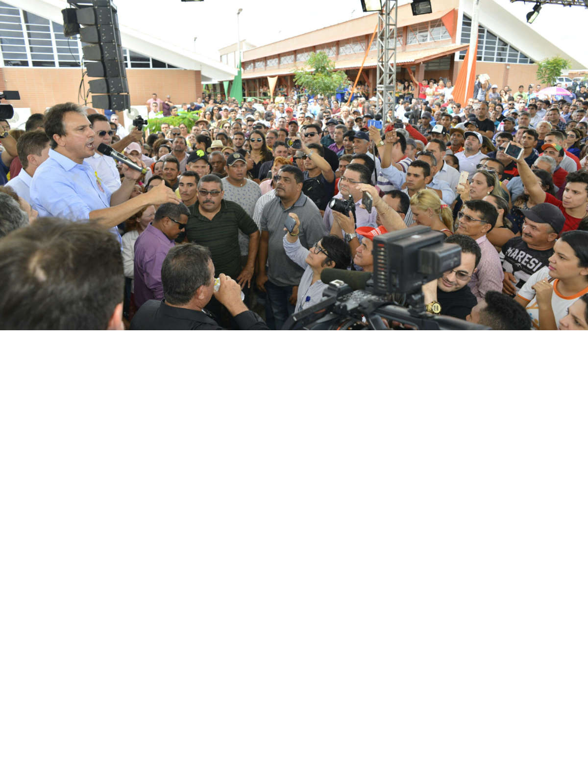 Governador faz agenda intensa hoje, com eventos em quatro cidades
