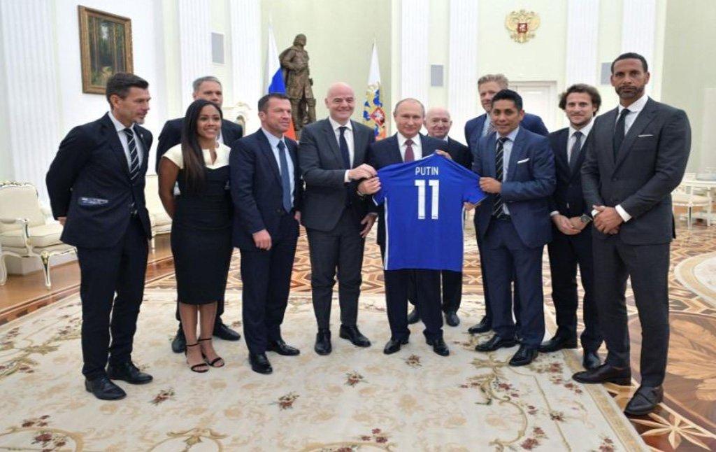 Putin: Copa acabou com estereótipos sobre a Rússia