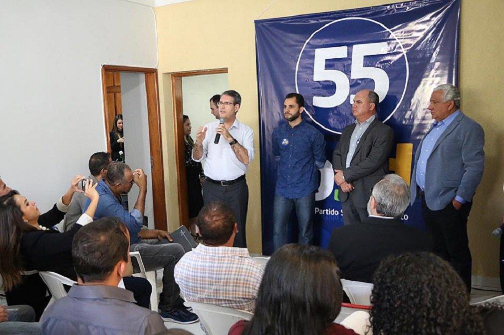 Francisco Jr. participa de reunião com pré-candidatos do PSD Goiás