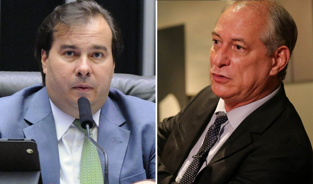 Aliança do DEM está mais próxima de Ciro do que de Alckmin, diz Maia