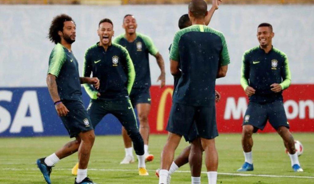 Marcelo volta à seleção no jogo contra Bélgica