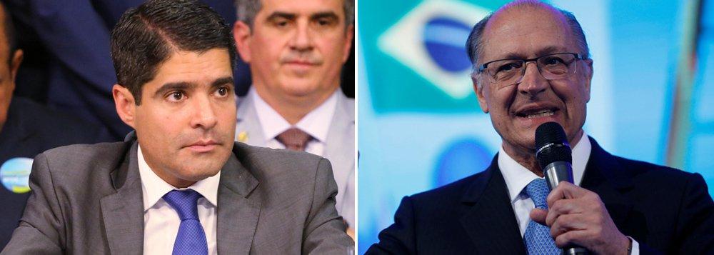 ACM Neto enquadra Alckmin: 'é preciso que você mostre sua viabilidade eleitoral'