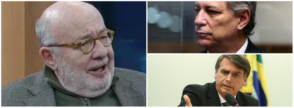 Kotscho: para empresários de Bolsonaro, Ciro assume papel de Lula como inimigo