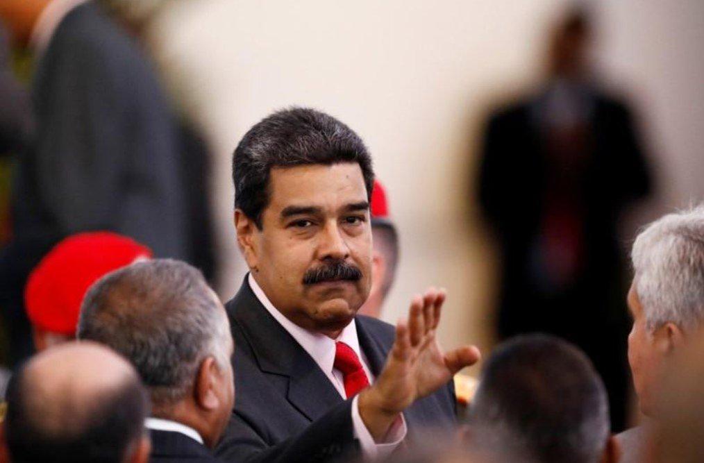 """Maduro rejeita intervenção dos EUA e pede que militares não """"baixem a guarda"""""""
