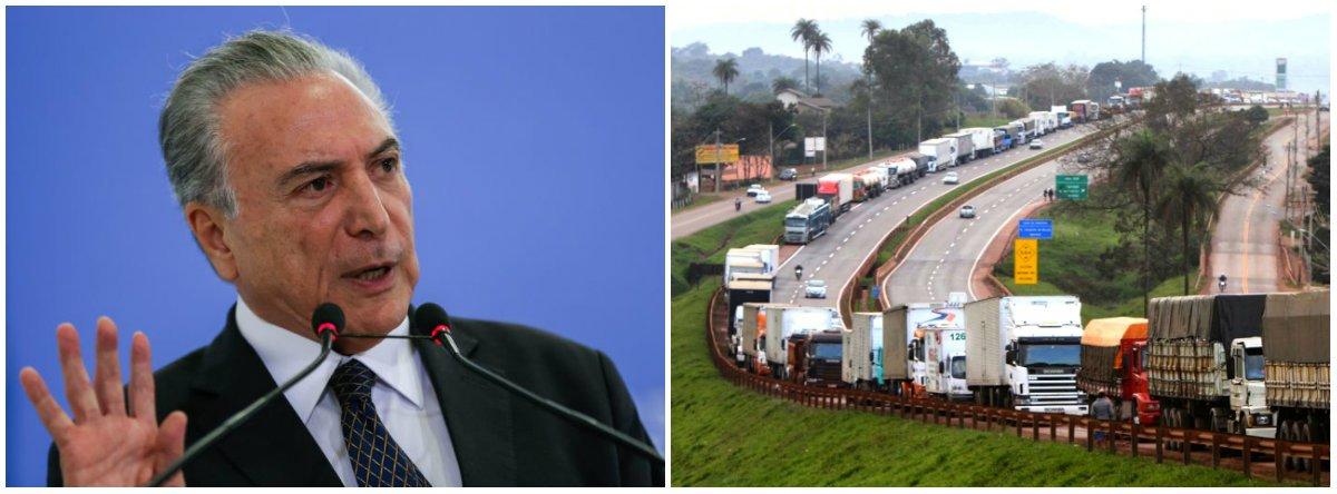 Temer usa R$ 777 mi que conectariam estudantes à internet para pagar diesel dos caminhoneiros