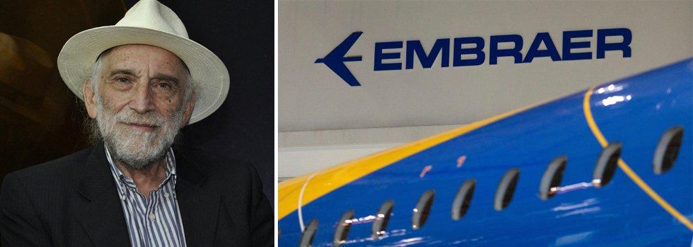 Solnik: venda da Embraer é a maior tragédia da aviação brasileira