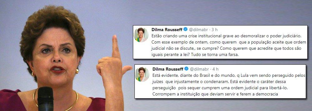 Dilma: juízes corrompem Judiciário e ferem democracia