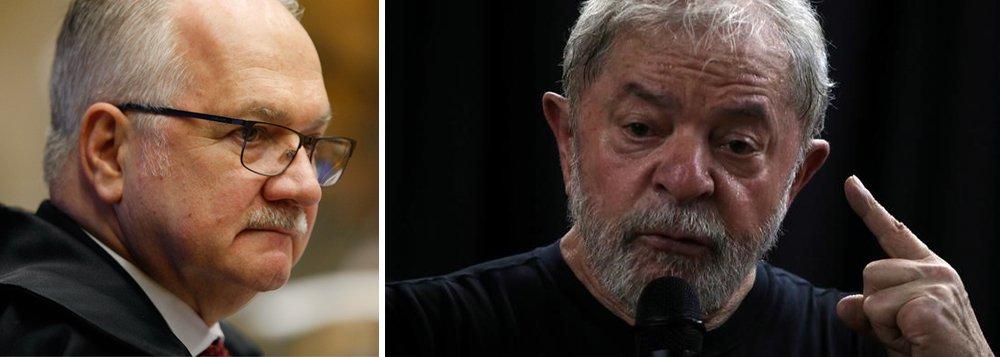 Não questionaram Fachin porque ele decidiu contra Lula