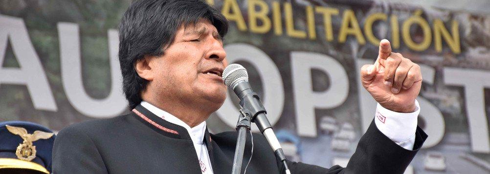 """Evo Morales vê """"ingerência"""" dos EUA em pedido de prisão contra Rafael Correa"""