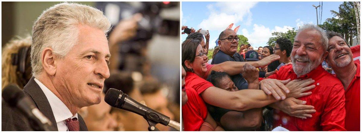 Correia: Lula é vítima de uma chantagem vergonhosa