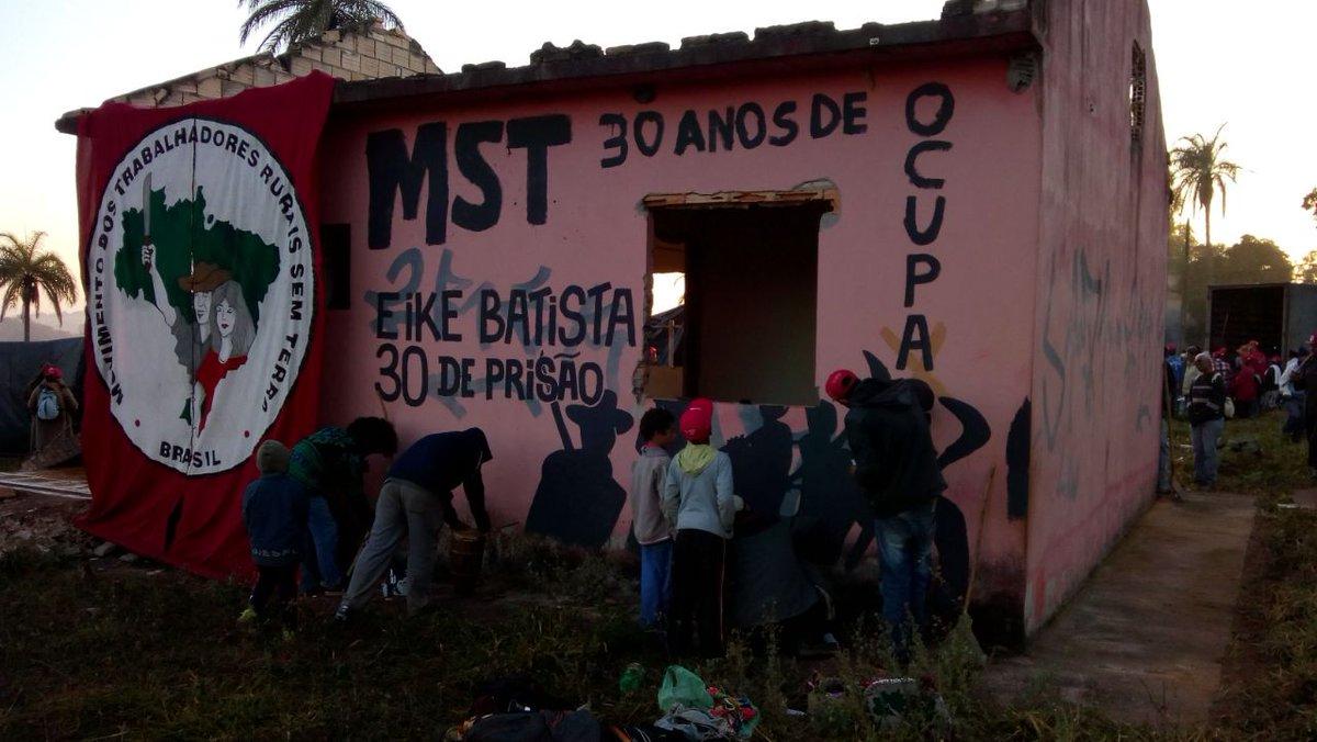 Por que apoiar a ocupação do MST em Minas?
