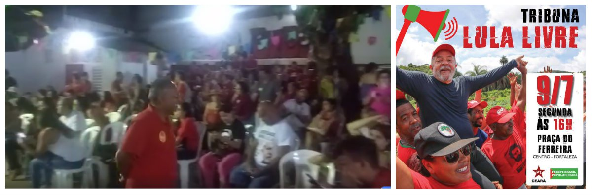 Militantes lotam a sede do PT Ceará em clima de tensão com o impasse da libertação de Lula