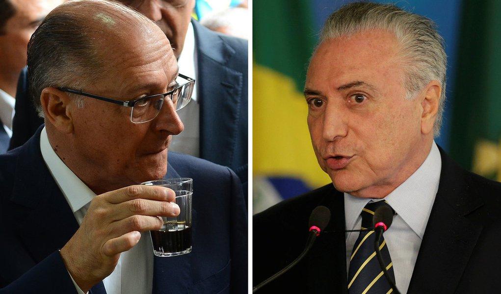 Alckmin se irrita com reuniões de Temer com FHC e Doria