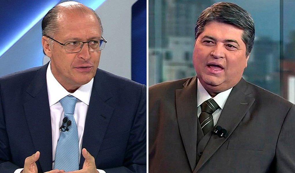 Datena diz que não votará em Alckmin