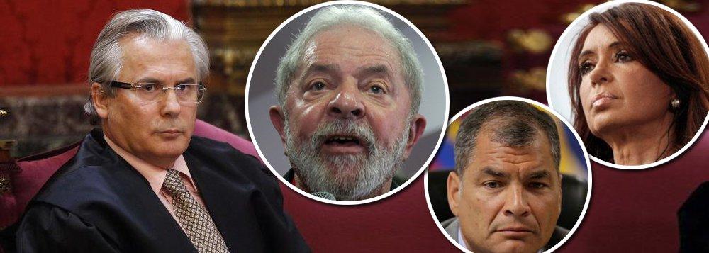 """Garzón: perseguição judicial a Lula, Correa e Kirchner é """"traição à democracia e à sociedade"""""""