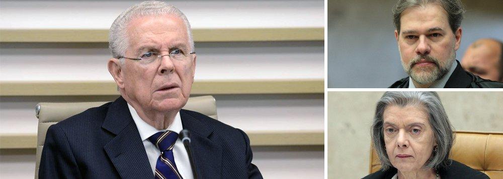 Toffoli não será Cármen, avisa ex-presidente do STF
