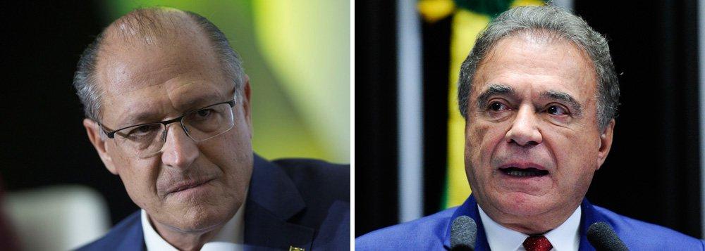 Alvaro Dias e Alckmin são os mais seguidos por robôs na internet