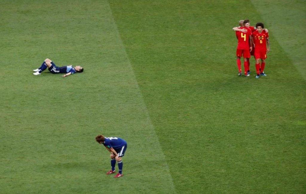 Bélgica vira sobre Japão após tomar dois gols e vai enfrentar o Brasil