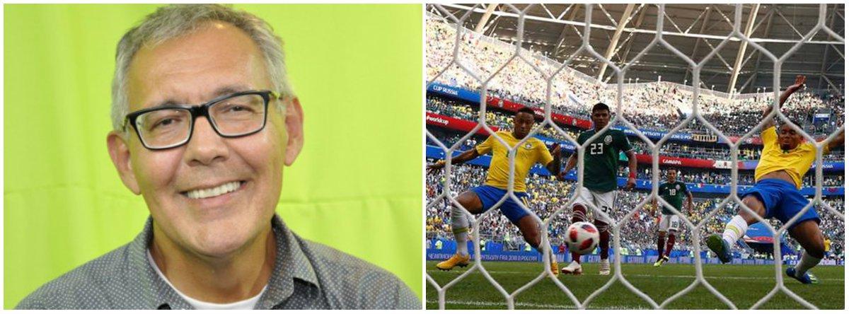 México assustou no começo, mas Brasil segue em frente