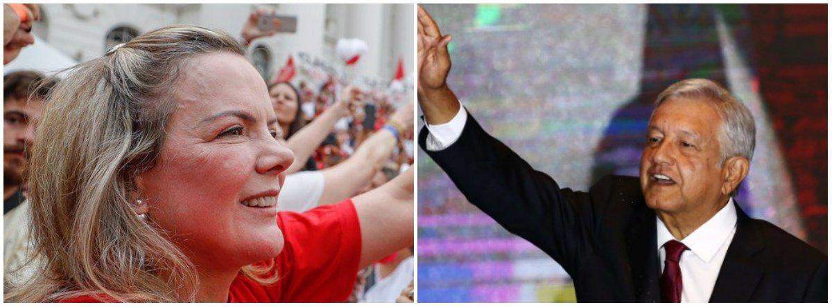 PT: Obrador ajudará a reforçar a luta por uma América Latina soberana