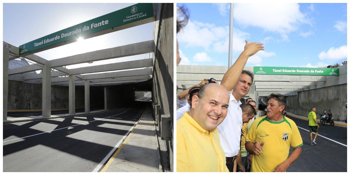Túnel da Borges de Melo é liberado ao tráfego