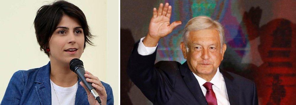 Manuela parabeniza México por López Obrador