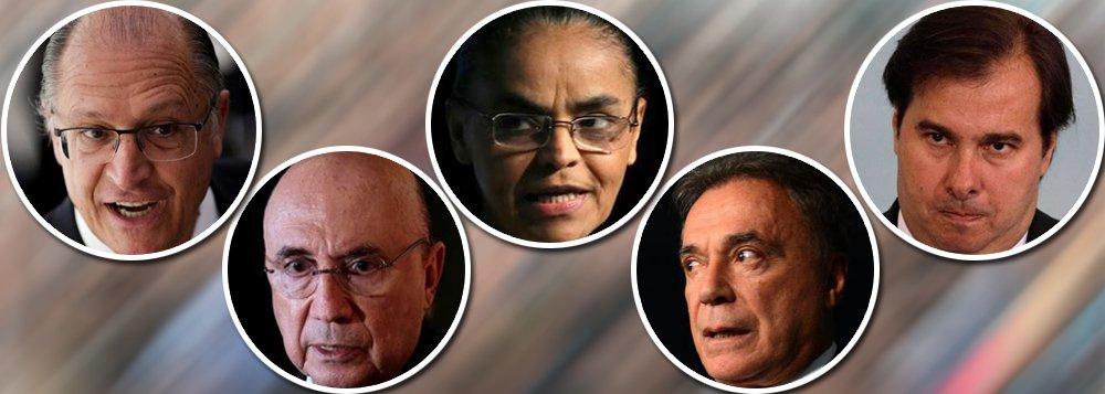 Bancos jogam a toalha: candidatos do golpe fora do 2º turno