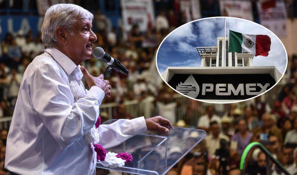 Um dia depois da vitória, Obrador fala em retomar o petróleo para os mexicanos