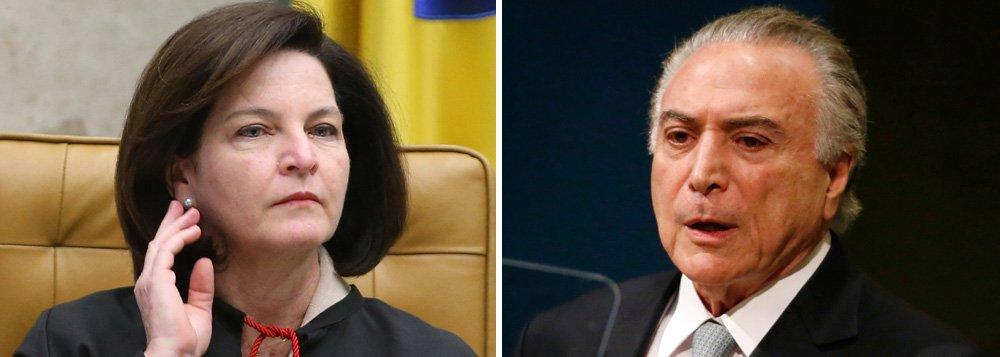 PGR se manifesta contra ministros acessarem inquérito que investiga Temer