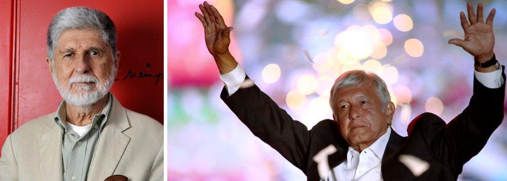 Amorim: Obrador traz esperança, mas pressão sobre Brasil vai aumentar