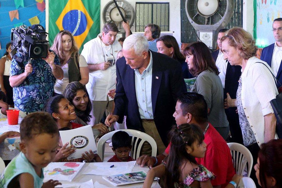 Pence, o Brasil e os EUA. Nada a temer - se estivermos de havaianas