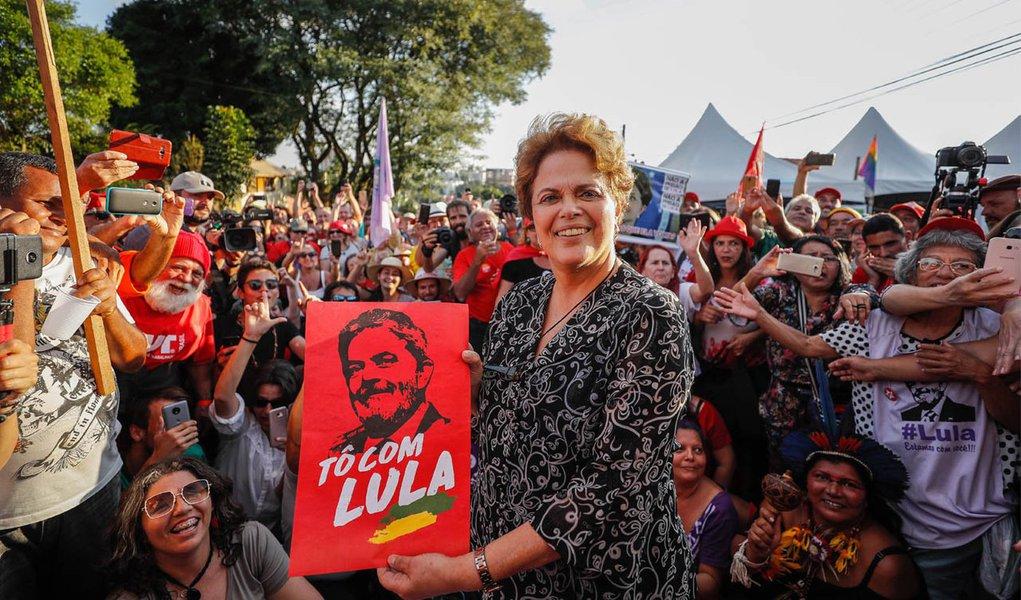 Dilma: Judiciário criou vale-tudo judicial para impedir candidatura Lula