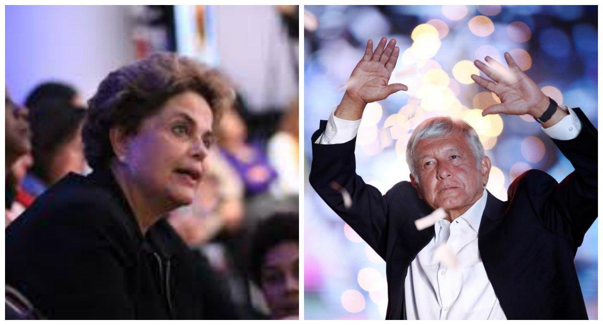 Dilma: vitória de López Obrador no México será de toda América Latina