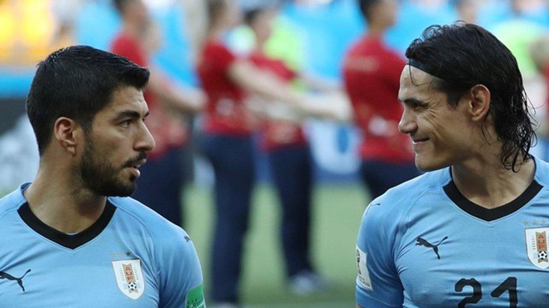 Mauro Lopes: filósofos Cavani e Suárez criam tabela de 50 metros no futebol
