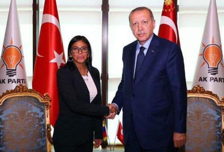 Venezuela e Turquia reafirmam relações de fraternidade e cooperação