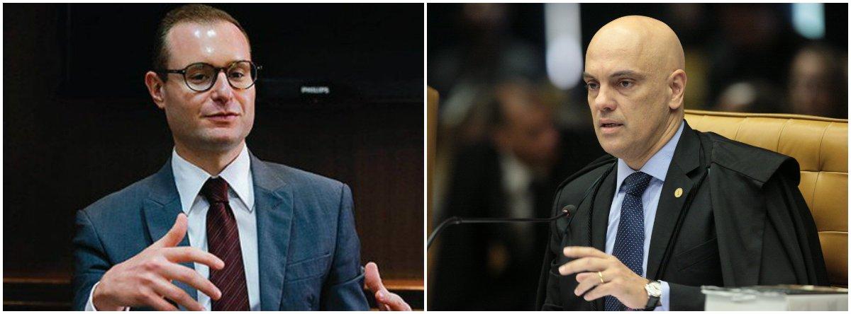 Defesa de Lula contesta escolha de Moraes como relator