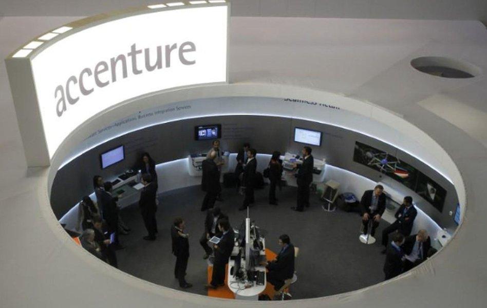 Receita e lucro trimestral da Accenture superam estimativas